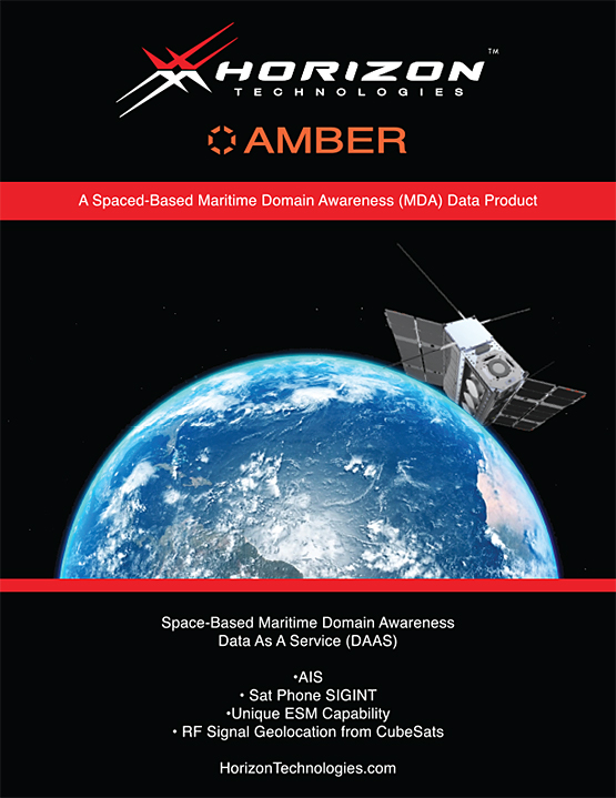 Amber - A Space-based Maritime Domain Awareness Product (Brochure)