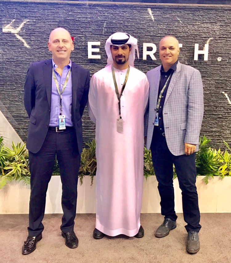Horizon Technologies and their Partner Emirates Advanced Research and Technology Holding (EARTH) Attend IDEX