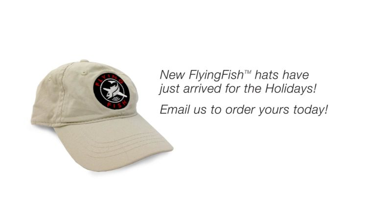 Flying Fish hats for the holidays