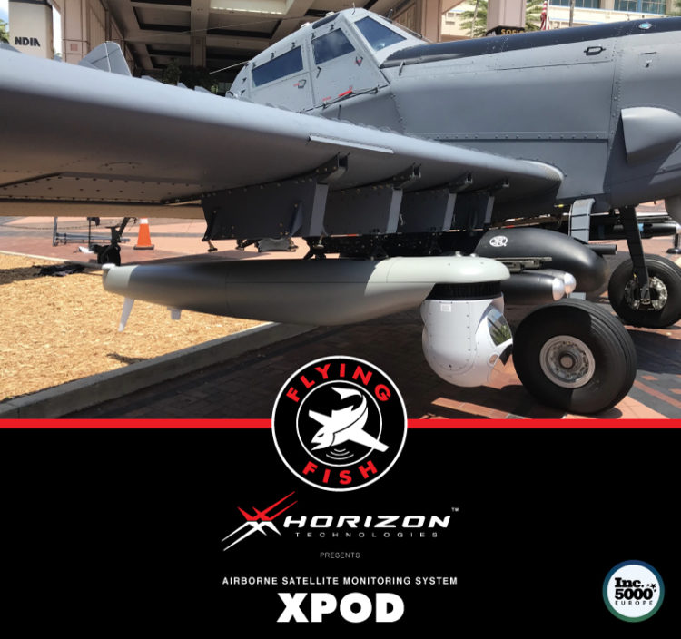 """Horizon Technologies Unveils Its New Plug and Play ISR """"XPOD"""" on L3's Longsword Light Attack Aircraft at SOFIC 2018"""