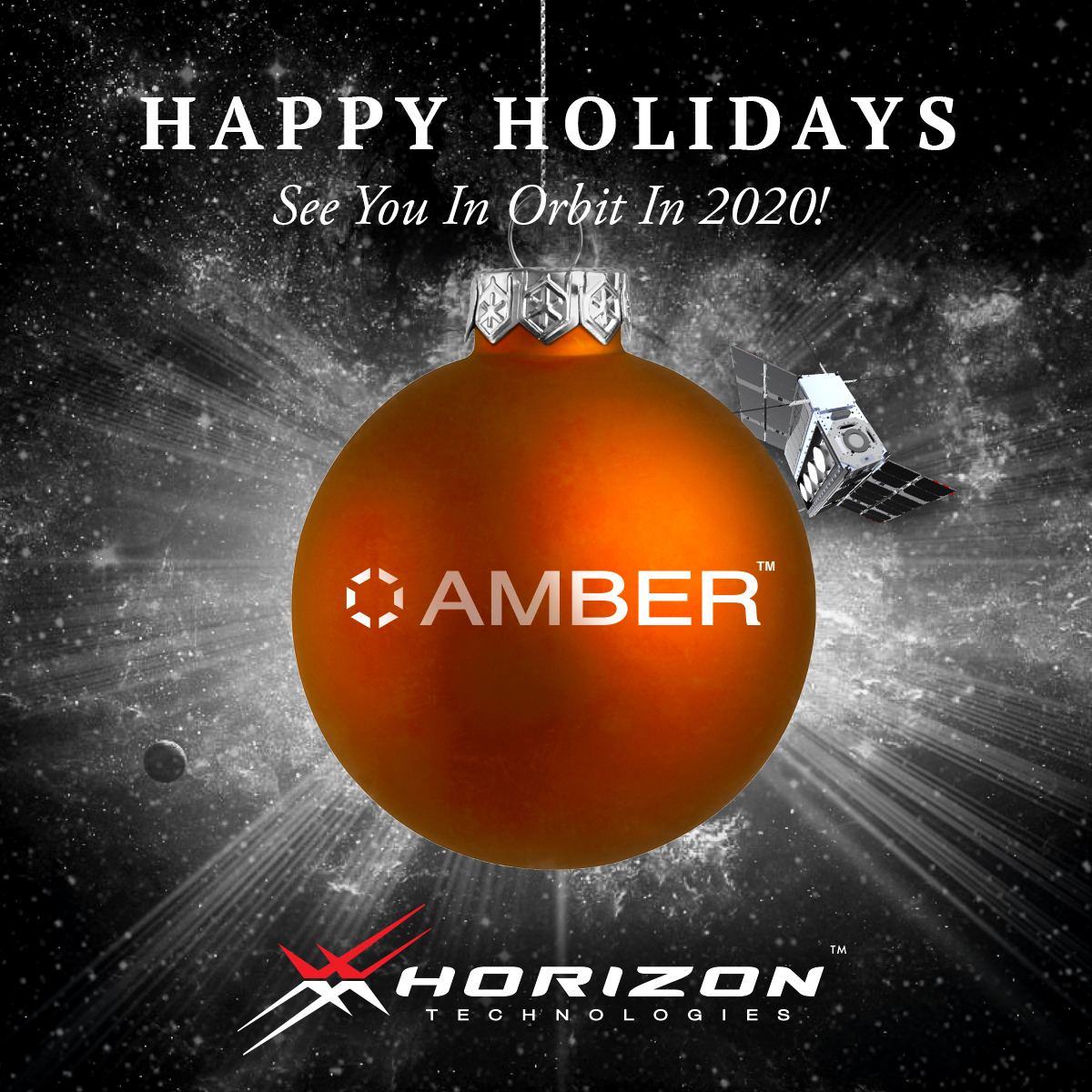 Happy Holidays from Horizon Technologies! See you in orbit in 2020!