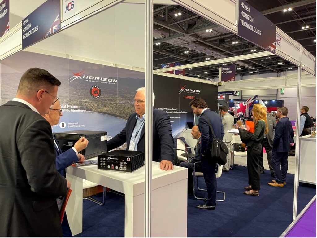 Horizon Technologies Closes DSEI Show with a $1 Million Sale of FlyingFish™ Airborne SIGINT Systems to a European Customer